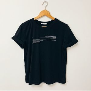 """Zara """"Garments With a Past"""" T-shirt"""